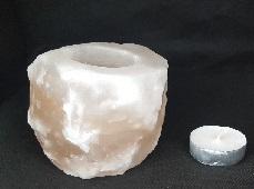 Magia del sale Torino | Porta candele grezzo 1 foro